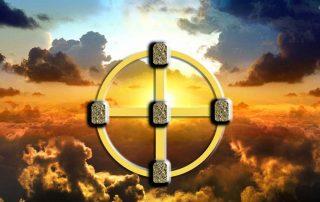 рунический расклад Солнечный крест